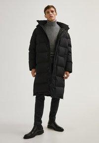 Massimo Dutti - Down coat - black - 1