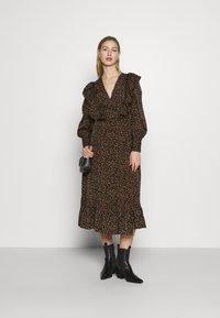 Fashion Union - CLAIRE DRESS - Day dress - black - 1