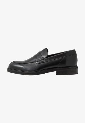 SLHFILIP LOAFER - Elegantní nazouvací boty - black