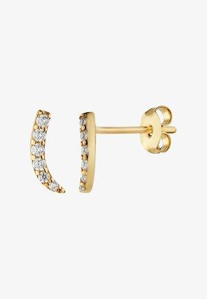 8 KARAT GOLD OHRSTECKER STAB ZIRKONIA - Earrings - gold