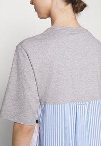 adidas Originals - Dry Clean Only xSHIRT DRESS - Vestido ligero - medium grey heather - 4