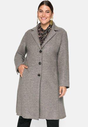 MANTEL - Classic coat - steingrau