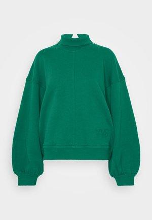 OVERSIZE LOGO DETAIL - Bluza - pine green