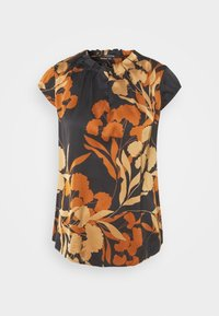 comma - KURZARM - Blouse - black - 3