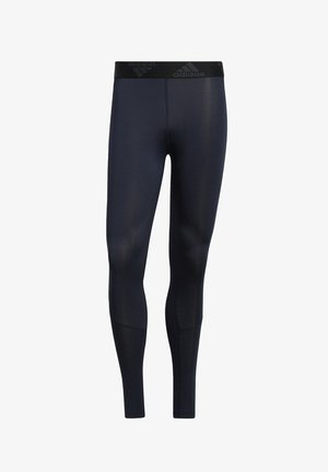 TECHFIT LONG TIGHTS - Medias - blue