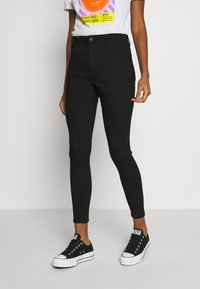 New Look - SUPERSOFT - Jeans Skinny Fit - black - 0