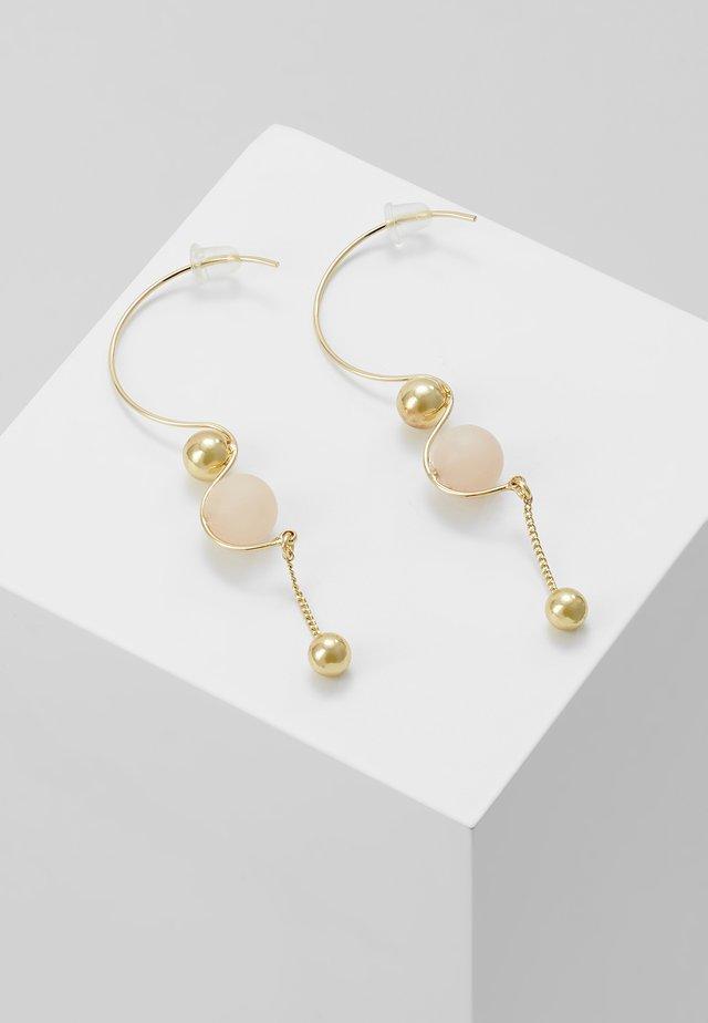 EARRINGS EARTH ROSE - Orecchini - gold-coloured