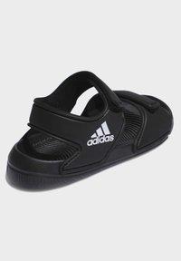 adidas Performance - ALTASWIM - Sandales de bain - black - 3