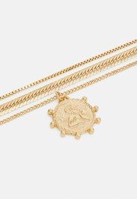Pieces - PCSTARINE COMBI NECKLACE - Smykke - gold-coloured - 2