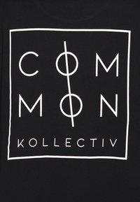 Common Kollectiv - UNISEX ZONE - Print T-shirt - black - 2