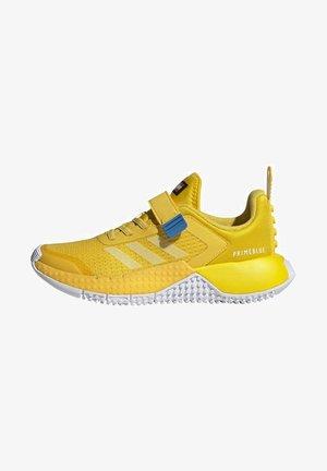 X LEGO SPORT RUNNING ACTIVE - Neutral running shoes - yellow/blue/green
