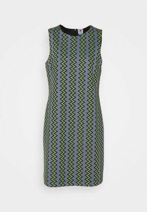 DRESS - Robe d'été - powderblue/milk/black/spearmint