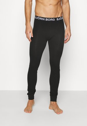 SEASONAL SOLIDS LEO LONG JOHNS - Unterhose lang - black beauty