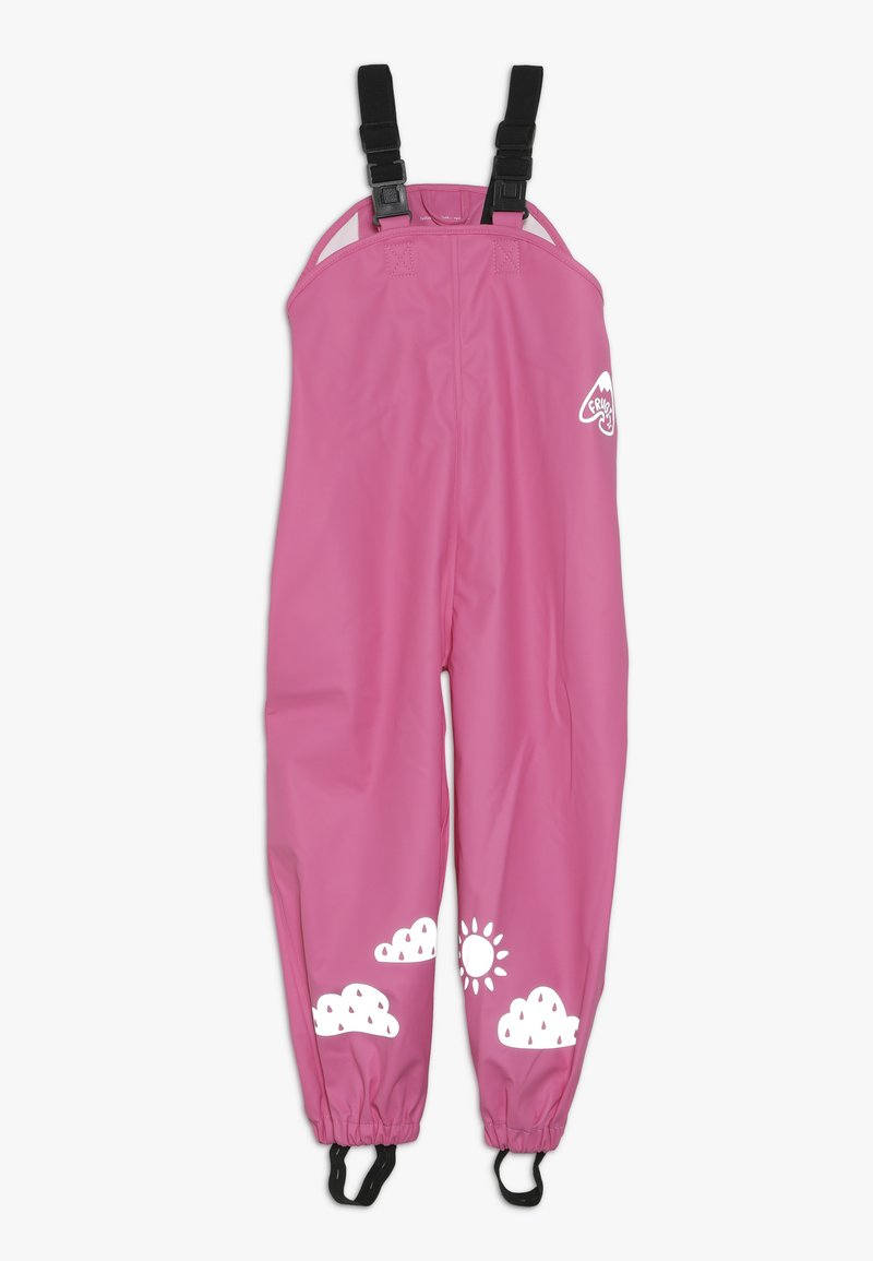 Frugi - PUDDLE BUSTER TROUSERS - Rain trousers - flamingo