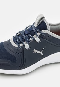 Puma Golf - IGNITE FASTEN8 - Golf shoes - navy blazer/silver/high rise - 5