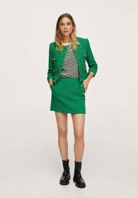 Mango - WINTOUR - A-line skirt - groen - 1