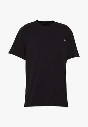 PORTERDALE POCKET - T-shirts basic - black