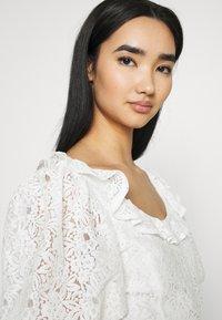 Fashion Union - HOLMES - Triko spotiskem - white - 3