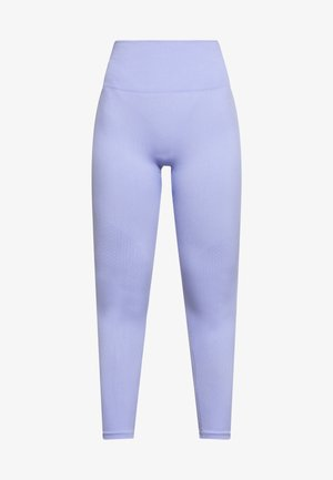 SEAMLESS 7/8 - Legginsy - light thistle/white