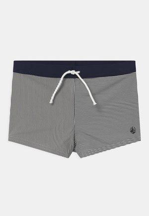 LOCEAN STRIPE TRUNK - Swimming trunks - abysse/lait