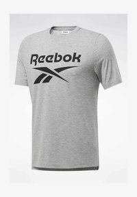 Reebok - SPEEDWICK SPORT SHORT SLEEVE GRAPHIC TEE - Camiseta estampada - grey - 6