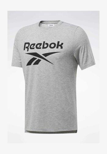 SPEEDWICK SPORT SHORT SLEEVE GRAPHIC TEE - Print T-shirt - grey