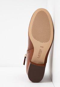Lauren Ralph Lauren - WELFORD - Kotníkové boty - deep saddle tan - 6