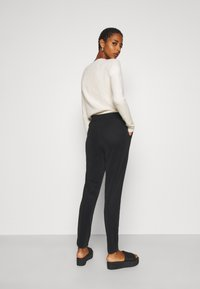 Vero Moda Tall - VMEVA LOOSE STRING SOFT PANT  - Trousers - black - 2
