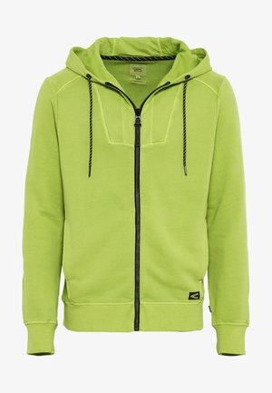 Zip-up hoodie - lime