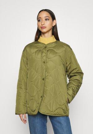 ALLEY - Light jacket - khaki