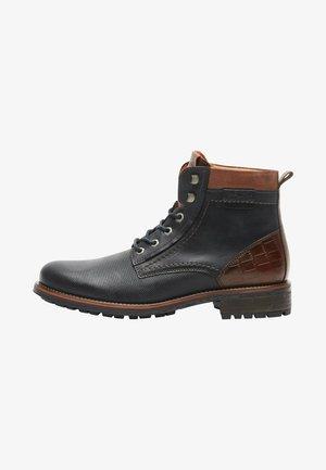 SCHOENEN  - Lace-up ankle boots - blau