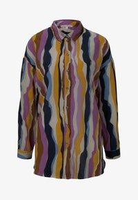 TOM TAILOR DENIM - Overhemdblouse - wavy multicolor stripes - 5