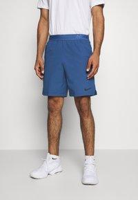 Nike Performance - FLEX VENT MAX SHORT - Pantaloncini sportivi - mystic navy/black - 0