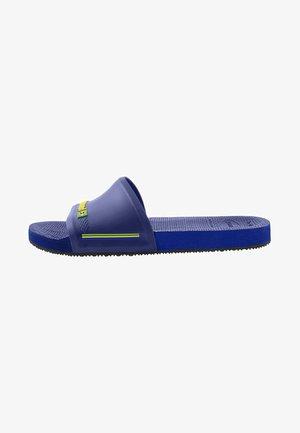 SLIDE BRASIL - Badesandaler - navy blue