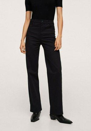 JULIE - Trousers - zwart