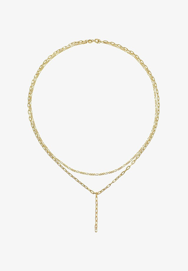 LAYER LOOK  - Collana - gold coloured
