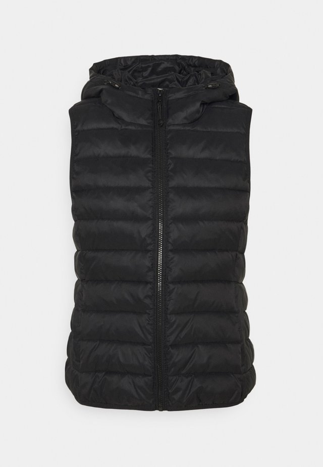 ONLNEWTAHOE HOOD WAISTCOAT - Vest - black
