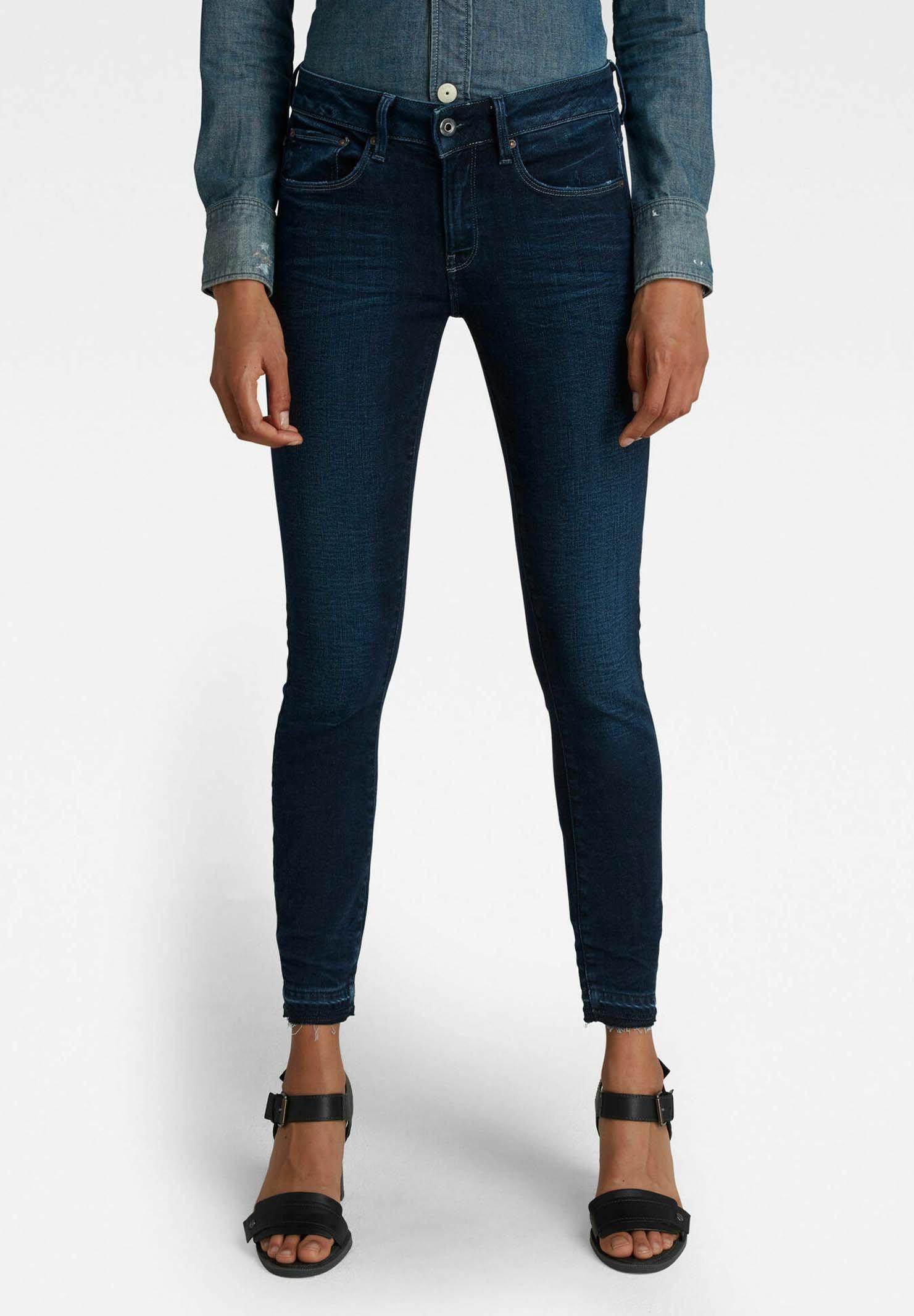 Damen 3301 MID SKINNY ANKLE - Jeans Skinny Fit
