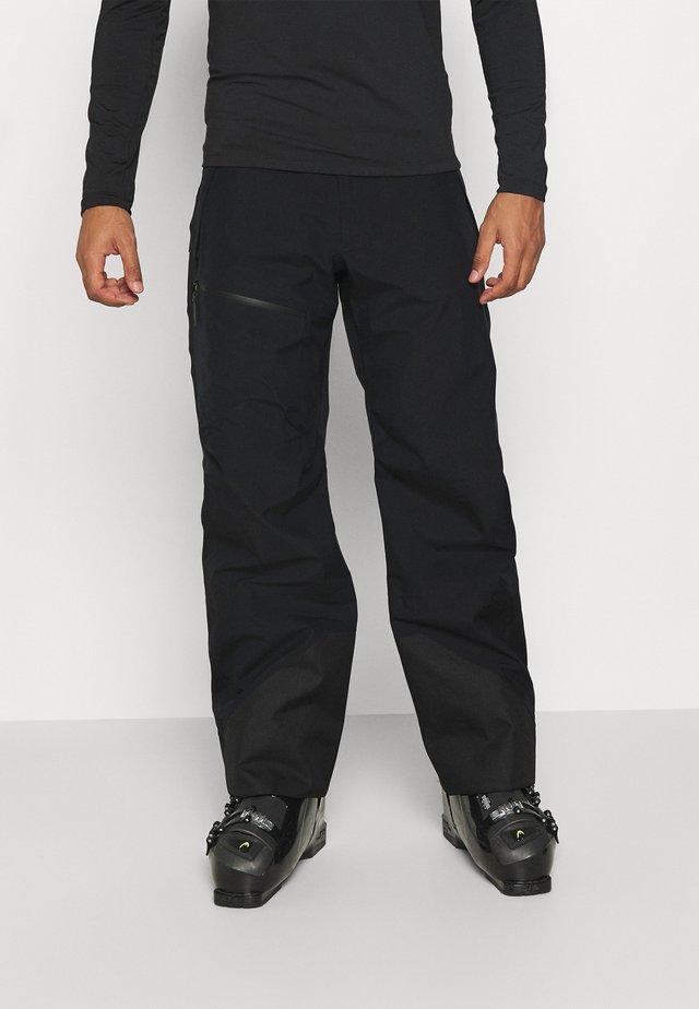 VERTICAL 3L PANTS - Snow pants - black