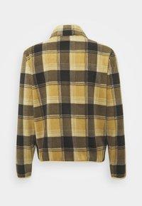 Brixton - LANE MOCK NECK X ZIP - Vest - brown - 1