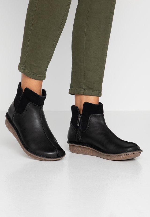 FUNNY MID - Ankelboots - black