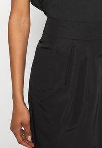 Emporio Armani - Mini skirt - black - 2