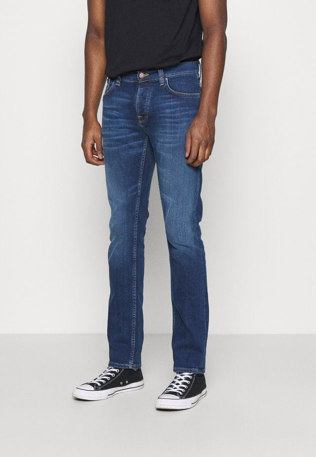 GRIM TIM - Jeans slim fit - indigo myth