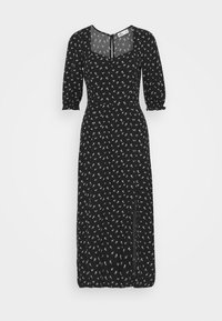TREND MIDI DRESS  - Denní šaty - black