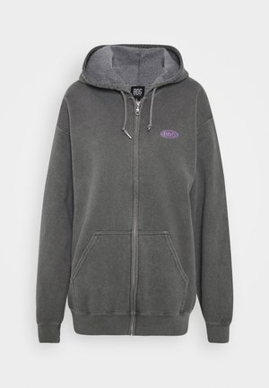 ZIP UP HOODIE - Huppari - charcoal
