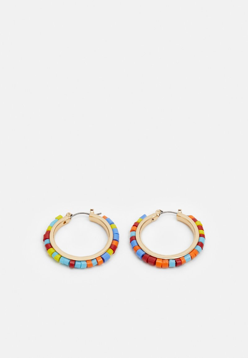 sweet deluxe - CRAFTED BEADS - Earrings - gold-coloured/multi