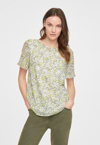 comma casual identity - Blouse - offwhite leaf - 3