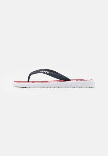 DELAMAR  - Pool shoes - brilliant red
