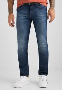 Baldessarini - Slim fit jeans - blue used buffies - 0
