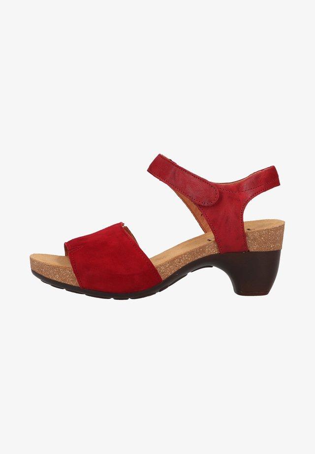 Sandales - rosso kombi